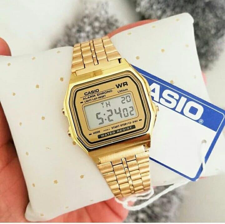 9968f60591e5 Reloj Clásico Casio Retro Dorado – Accesorios Joha