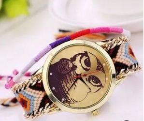 lindo reloj tejido