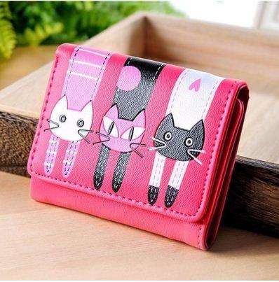 billetera gatos