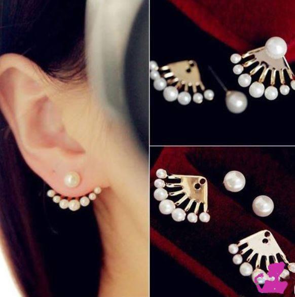 Aretes perlas