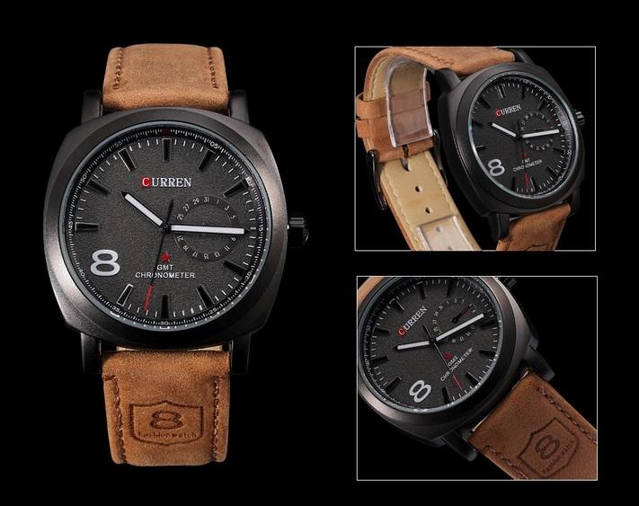 311f576cb287 Reloj Curren Para Hombre Negro – Accesorios Joha