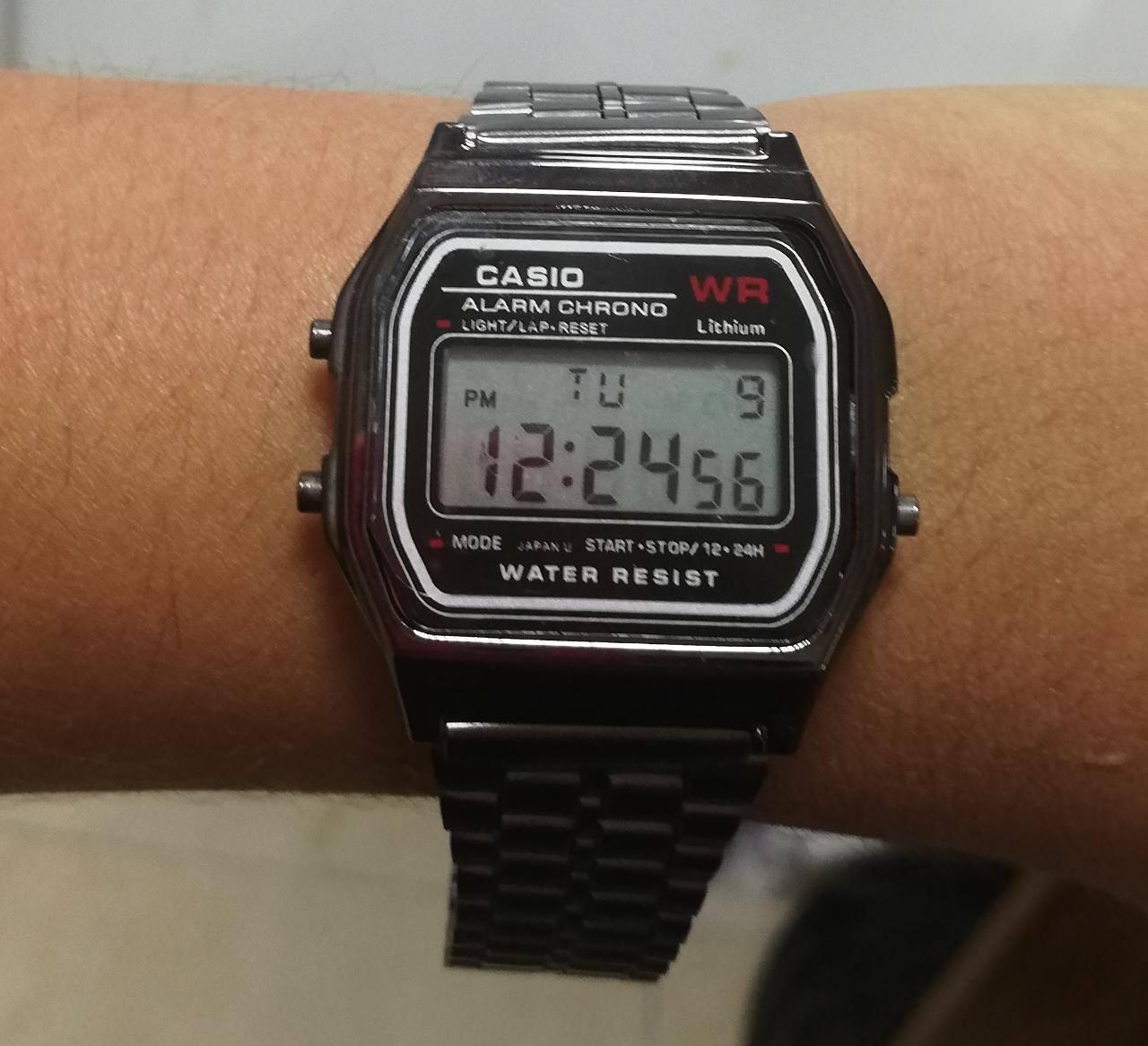 4877ed3cb58b Reloj Casio Negro Unisex – Accesorios Joha
