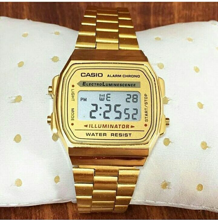 139677348304 Reloj Casio Retro Dorado Unisex – Accesorios Joha