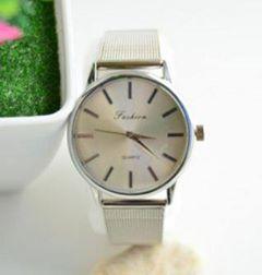 Reloj_plateado_malla