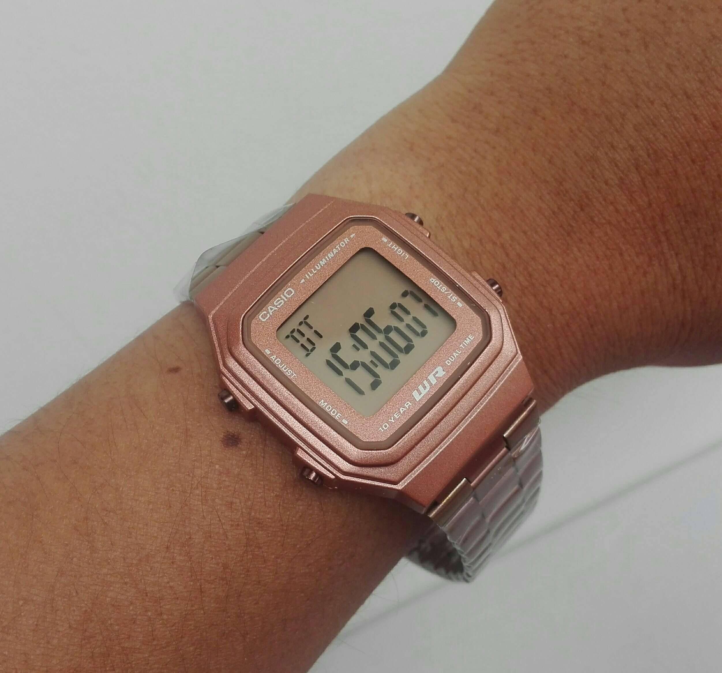 8d43010d4b40 Reloj Casio Oro Rosa – Accesorios Joha