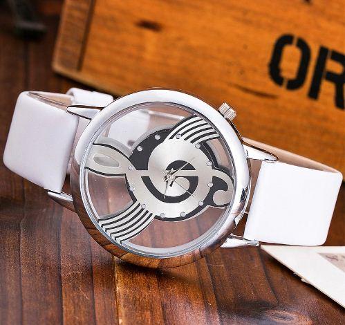 reloj unisex blanco